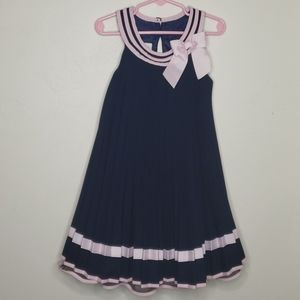Bonnie Jean Pleated bell dress